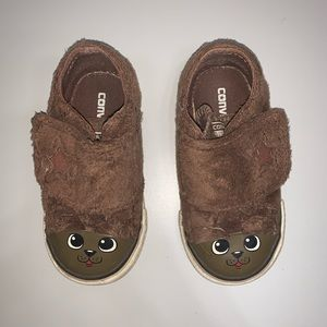 Converse Velcro Dog Character Shoes